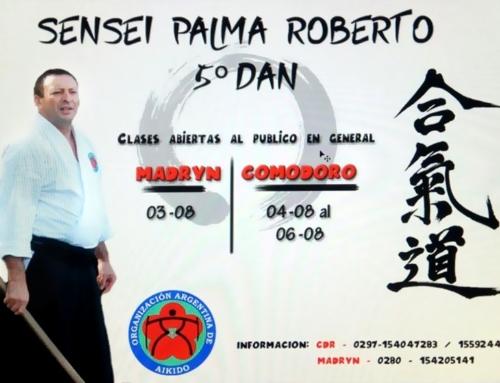 2017-08-03 | Clases Abiertas de Aikido, Palma Sensei – Puerto Madryn y Comodoro