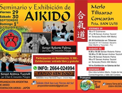 2017-09-29 | Aikido Seminario y Exhibición – Merlo Tilisarao Concarán – SanLuis
