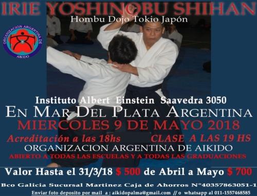 2018-05-09 | Irie Yoshinobu Shihan  – Mar del Plata