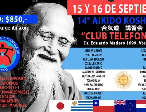 2018-09-15 | 14° AIKIDO KOSHUKAI – Club Telefonos