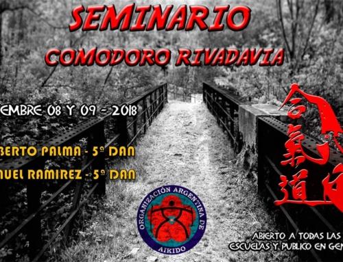 2018-12-08 | SEMINARIO AIKIDO – Comodoro Rivadavia