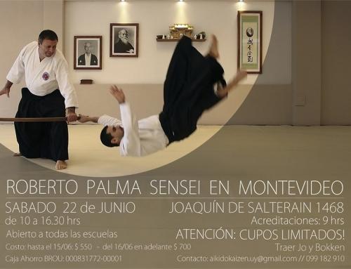 2019-06-22 | SEMINARIO DE AIKIDO – Sensei Palma en Montevideo