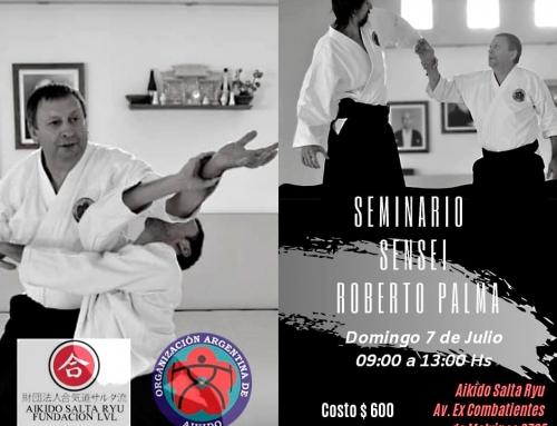 2019-07-07 | SEMINARIO DE AIKIDO – Sensei Palma en Salta