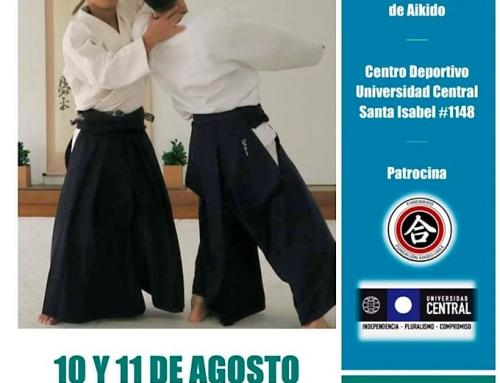 2019-08-10 | SEMINARIO INTERNACIONAL AIKIDO – Chile