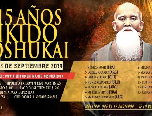 2019-09-14 | KOSHUKAI 15 AÑOS – OAA