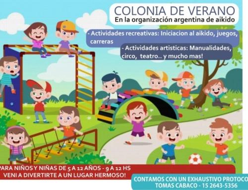 COLONIA DE VERANO – OAA